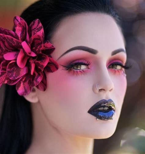 girl makeup tattoo 329 best goth fashion makeup regular makeup images on