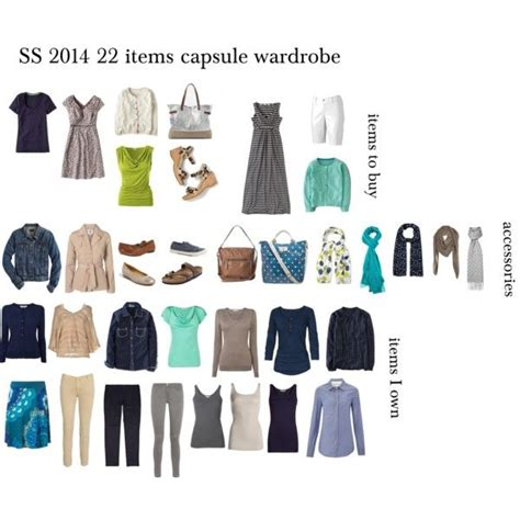 quot ss 2014 capsule wardrobe for work and home quot by lillyicity