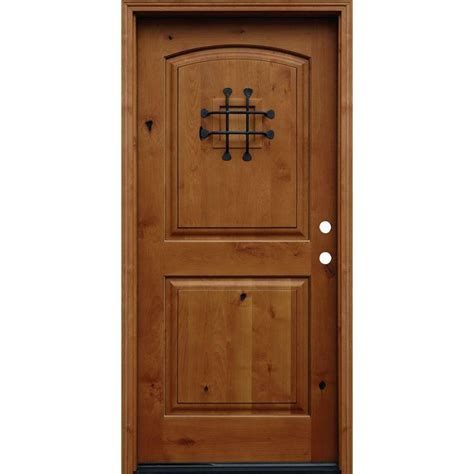 Prehung Hickory Interior Doors by 1000 Ideas About Knotty Alder Kitchen On