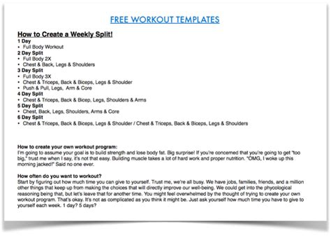 Ep 59 How To Build Your Own Workout Program Open Sky Fitness How To Build Your Own Template
