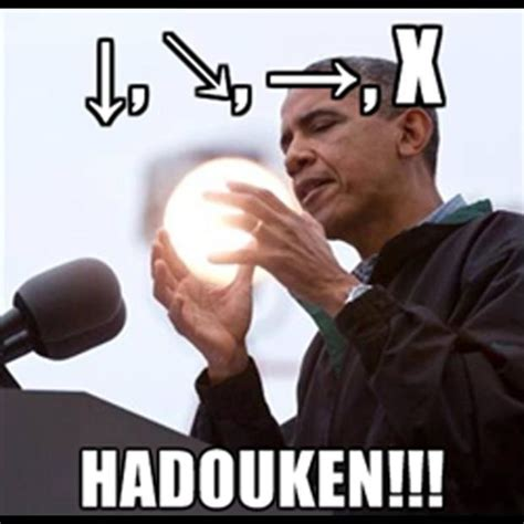 Hadouken Meme - hadouken wizard obama know your meme