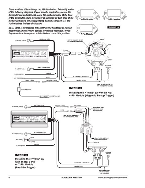 mallory hei distributor wiring diagram 38 wiring diagram