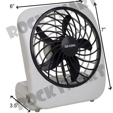 battery operated personal fan o2 cool portable personal fan battery 2 speed cing 5