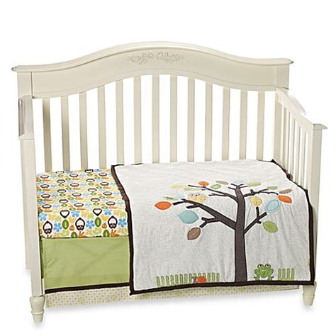 bed bath and beyond crib bedding buy notneutral 174 arbor friends 4 piece crib bedding from bed bath beyond