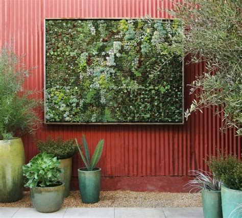 garden wall panels cool diy green living wall projects for your home