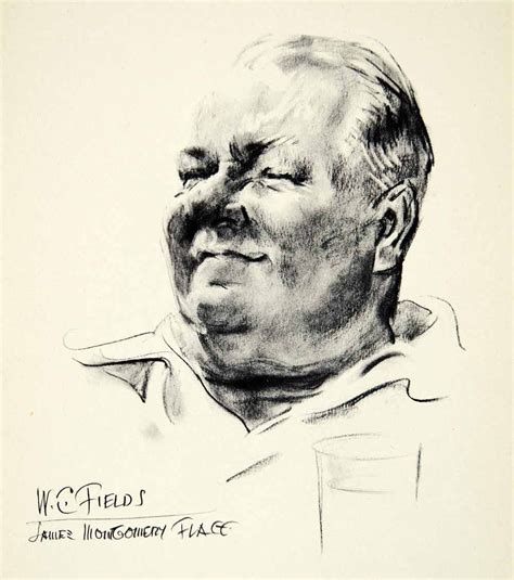 W C Fields Sketches by W C Fields By Montgomery Flagg Masterpieces Of