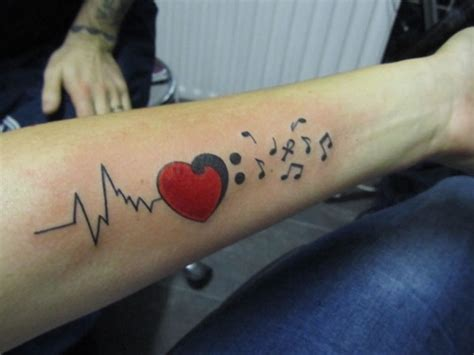 heartbeat tattoo guy heartbeat tattoos designs ideas and meaning tattoos for you