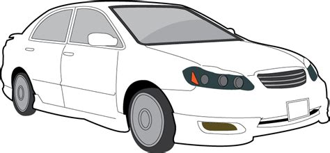 car black and white free car black and white clipart