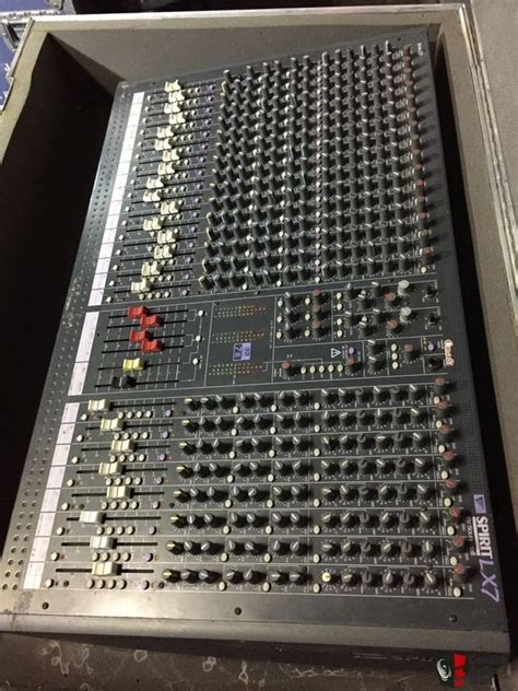 Mixer Soundcraft Spirit Lx7 24 Cnl soundcraft spirit lx7 24 channel xlr input mixer photo