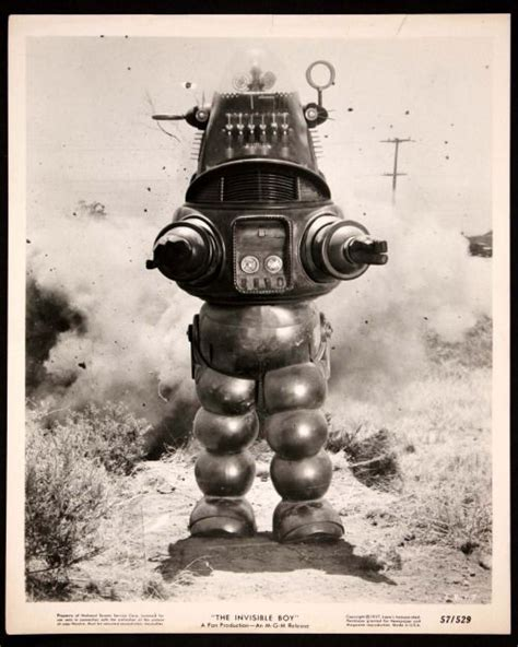 the genuine 7 foot robby the robot hammacher schlemmer ronaldcmerchant robby the robot in the invisible boy