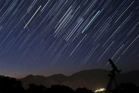 Meteor Shower Time August 12th by Nasa Views Perseid Meteor Shower Days Before Predicted Peak