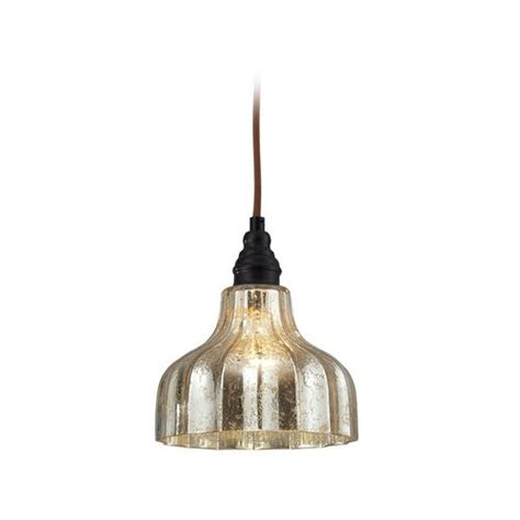 Mini Pendant Lighting For Kitchen Island Elk Lighting Danica Mini Pendant Light With Mercury Glass Mercury Glass Island Pendants And