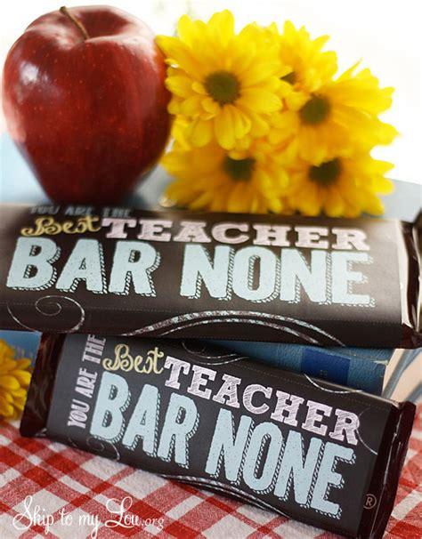 teacher appreciation candy bar covers skip   lou