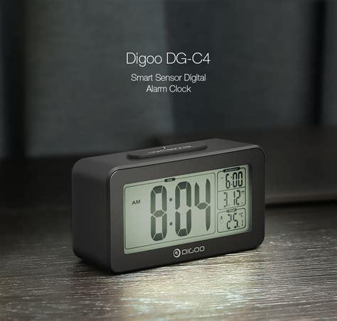 light sensitive alarm clock digoo sensitive backlit digital lcd dual alarm