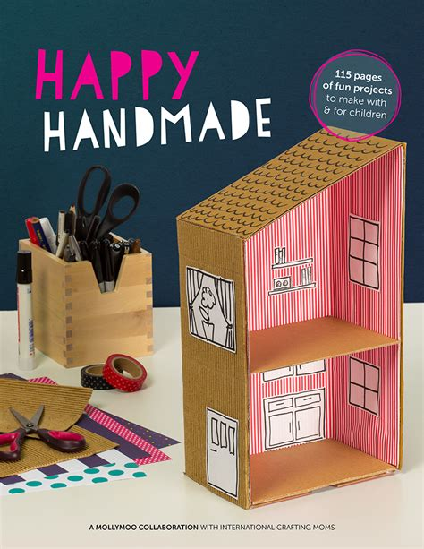 How To Make Handmade Craft - mollymoocrafts happy handmade craft ebook