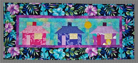 Simply Quilts Tv Show by Hula Hut Quilt Pattern By Boyer