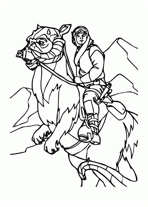 coloring pages wars luke skywalker wars luke skywalker coloring pages coloring home