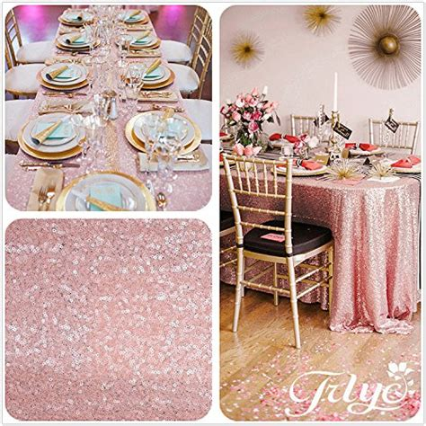 blush sequin table runner 12 x108 blush pink sequin table runner sequin table