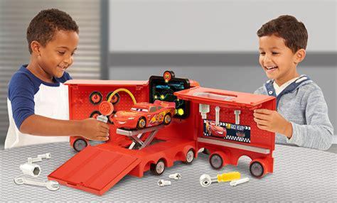 Cars Figure 14pc Disney Pixar Figure Toys Mobil Mainan disney pixar s cars 3 mack s mobile tool center the