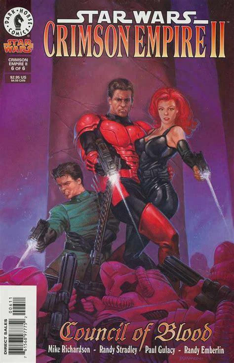a war in crimson embers the crimson empire books wars crimson empire vol 2 6 database
