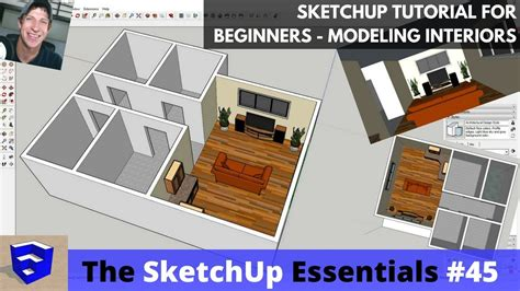 tutorial sketchup for beginner sketchup tutorial for beginners part 3 modeling