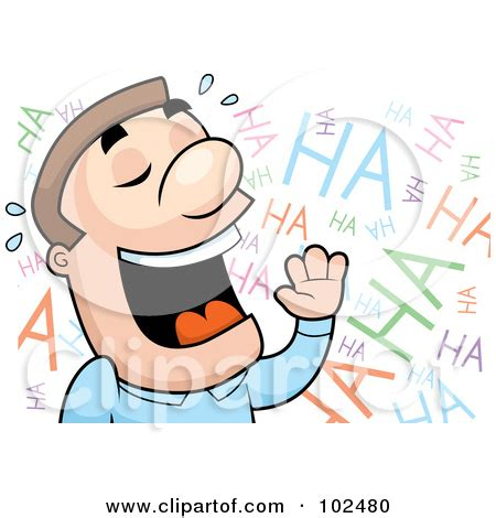 Clipart Of Someone Laughing