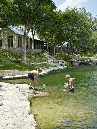 backyard swimming hole a family friendly texas ranch swimming holes texas