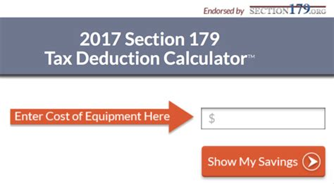 section 179 calculator technology equipment tax deductions with section 179