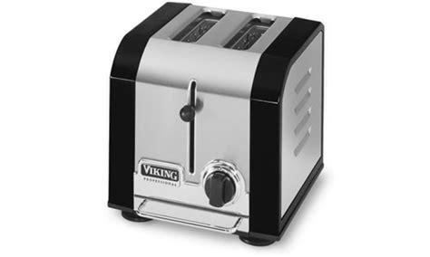 Viking Toaster Viking Professional Toaster 2 Slot Black Cutlery And More