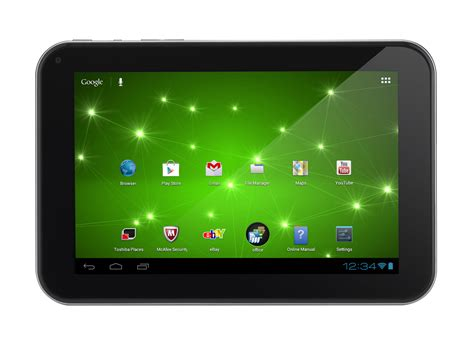 Tablet Toshiba review toshiba at270 101 tablet notebookcheck net reviews