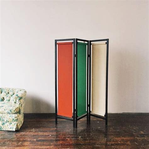 Vintage Painted Tri Fold Room Best 25 Fabric Room Dividers Ideas On Space