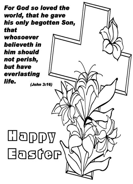 religious easter coloring pages happy easter sunday coloring pages religious