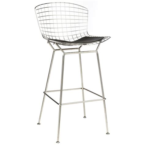 bertoia wire bar stool bertoia inspired wire bar stools
