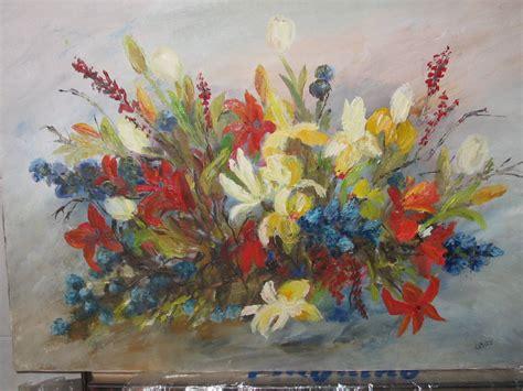 quadri fiori olio quadri fiori