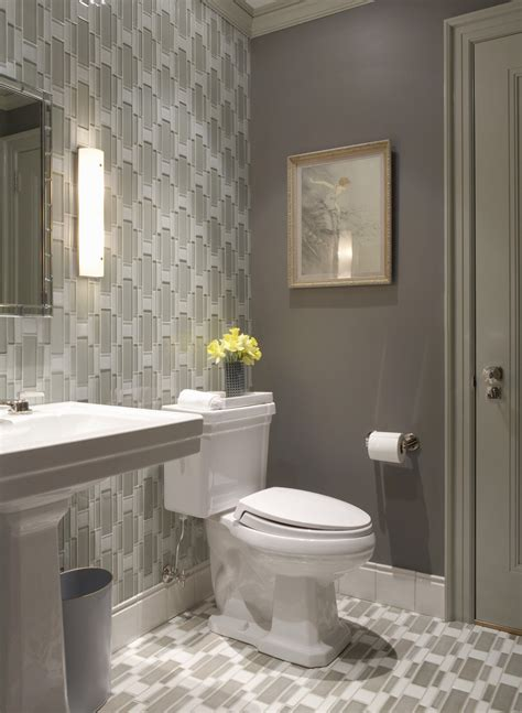 grey wallpaper for bathroom how to decorate with the color taupe