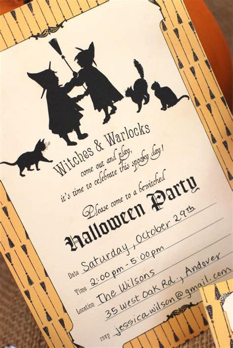 make printable halloween invitations free halloween party printables from b nute productions