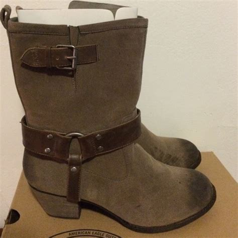 50 american eagle outfitters boots brown ankle