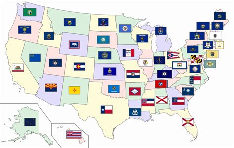 Of United States by File Map Of The United States With Flags Svg Wikimedia