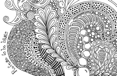 Printable Zentangle Coloring Pages Coloring Home Zentangle Coloring Page