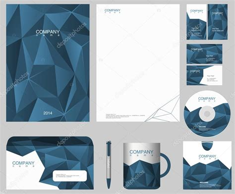 corporate identity design template just put your logo