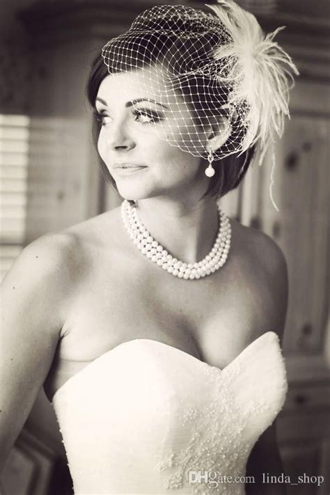 Wedding Hair For Birdcage Veil by Best 20 Vintage Wedding Veils Ideas On Lace