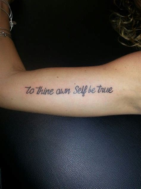 to thine own self be true script cursive writing