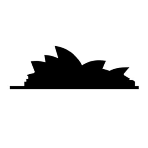 sydney opera house silhouette stencil  stencil gallery