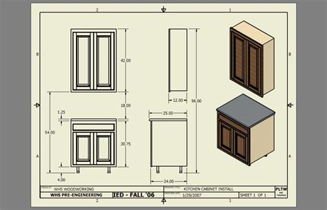 Kitchen Cabinets Dimensions Kitchen Base Cabinet Height