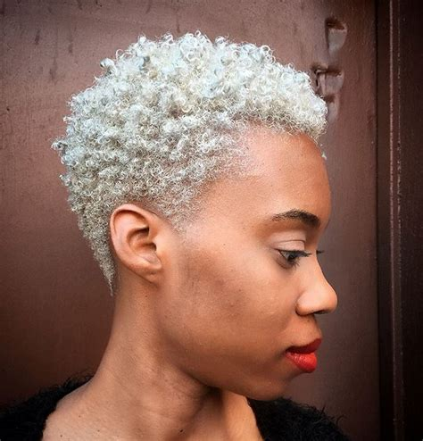 short platium afro 40 twa hairstyles that are totally fabulous blonde twa