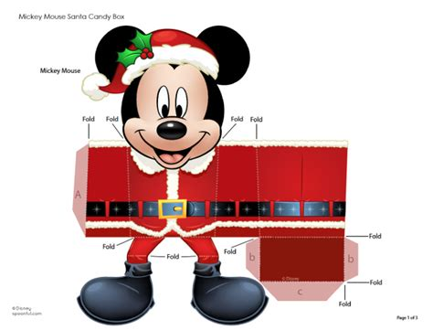 Disney Papercraft Templates - mickey mouse papercraft pictures to pin on