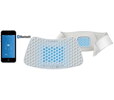 happylight touch led light therapy l bluetouch app controlled pain relief patch pr3743 00 philips