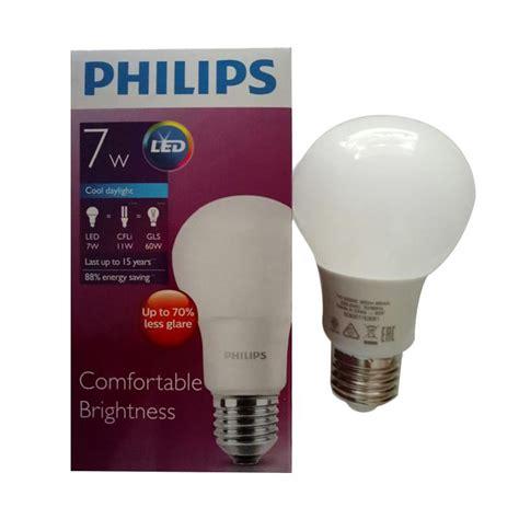 Lu Bohlam Philips 5 Watt harga philips lu led 23 watt 2 pcs lu led 7 watt