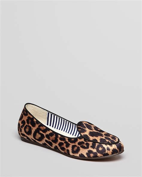 leopard loafer flats charles philip flats olimpia leopard loafer
