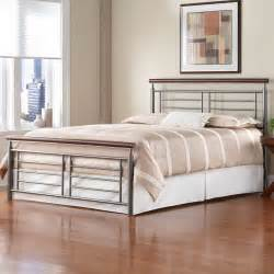 metal headboards for beds fontane iron headboard silver cherry metal contemporary